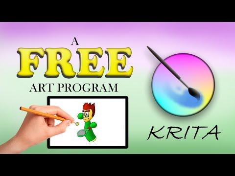 FREE Art Program: Krita (Installation and Setup Tutorial)
