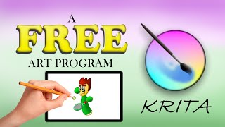 FREE Art Program: Krita (Installation and Setup Tutorial)