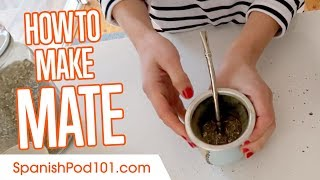 How to Make Mate Tea in Argentina