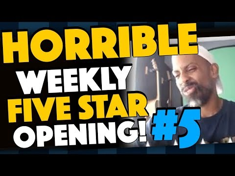 HORRIBLE Weekly 5 Star Opening #5 With Ghost Attempt!
