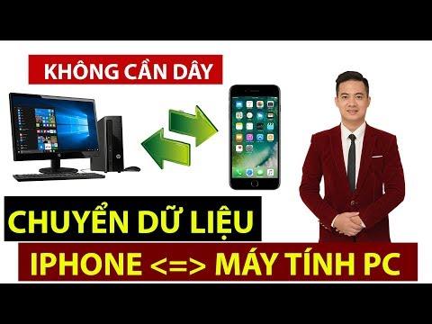 Chuyển Dữ Liệu Từ Iphone Sang Máy Tính PC - Không Cần Dây - Lê Minh Hài