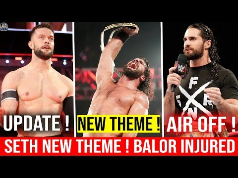 Seth Rollins NEW THEME SONG Debut ! WWE...