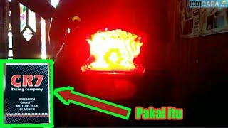 Cara membuat lampu REM berkedip kedip yang bisa di atur
