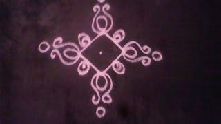 Learn How to Draw Dot Rangoli of 3 x 3