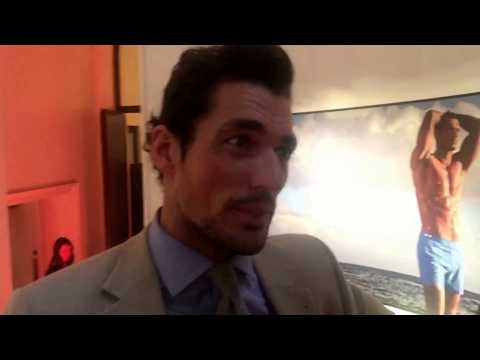 David Gandy talks about his new M&S swimwear collection with Darren Kennedy