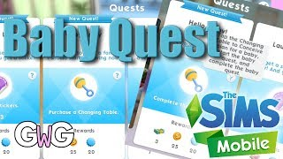 The Sims Mobile- Baby Quest