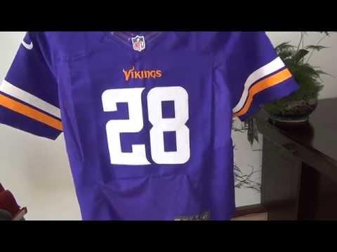 Nike NFL Minnesota Vikings Adrian Peterson Replica Jerseys