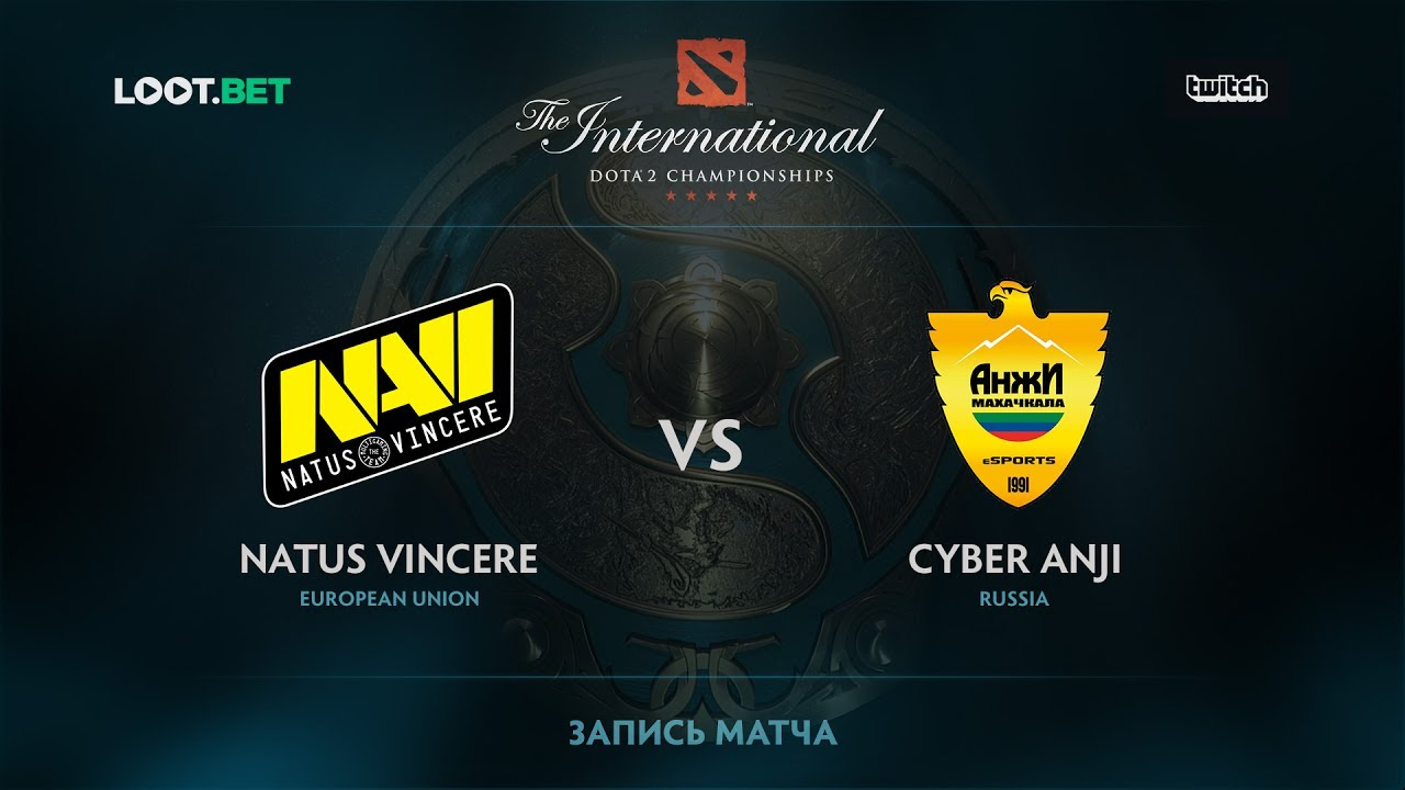 Natus Vincere vs Cyber Anji. The International 2017 CIS Qualifier