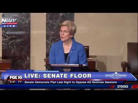 WATCH: Senator Elizabeth Warren Is Told To Take HER SEAT For Inappropriate Language