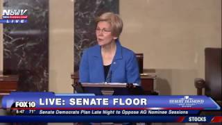 WATCH: Senator Elizabeth Warren Is Told To Take HER SEAT For Inappropriate Language (FNN)