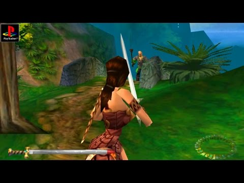 Xena: Warrior Princess - Gameplay PSX / PS1 / PS One / HD 720P (Epsxe)