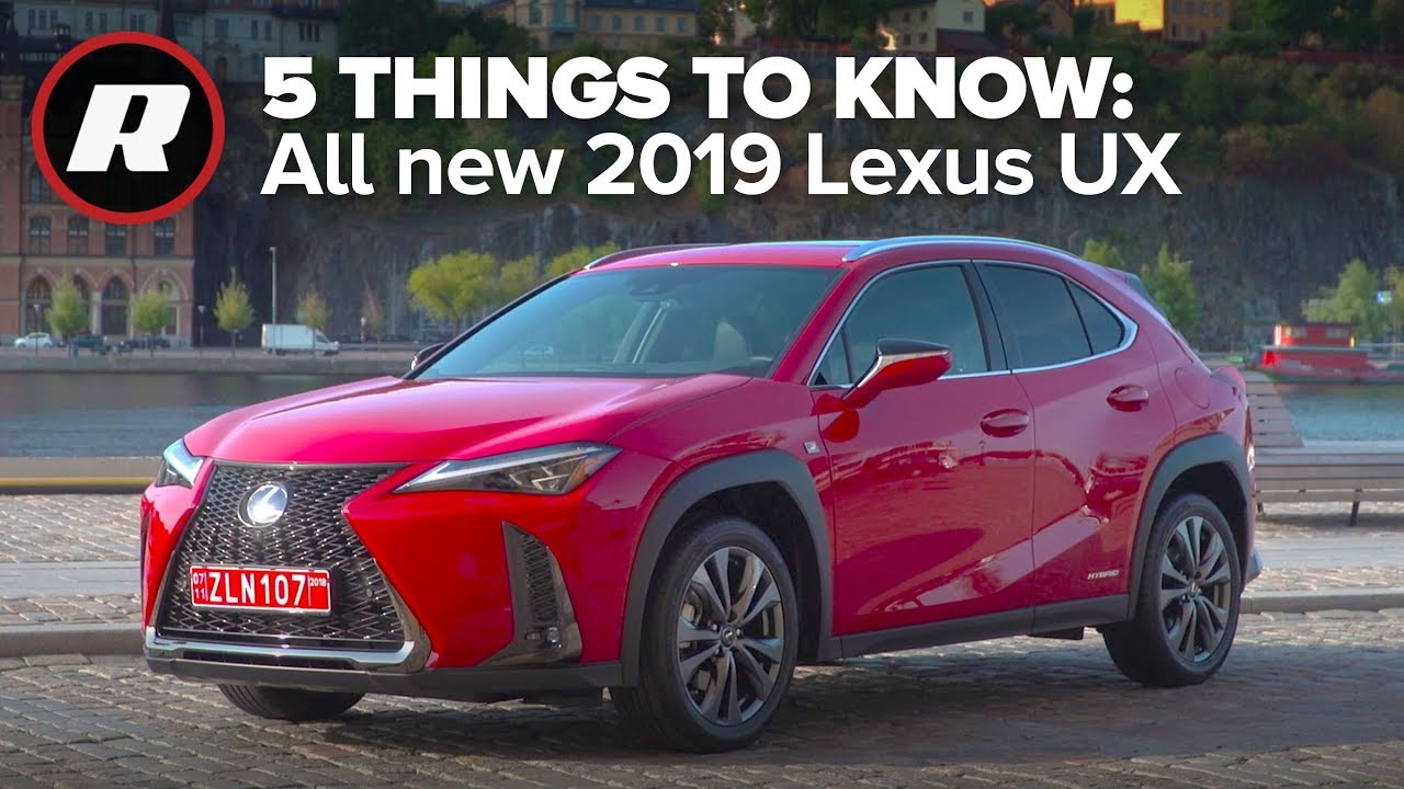 Driving the all new 2019 Lexus UX: 5 Things to Know