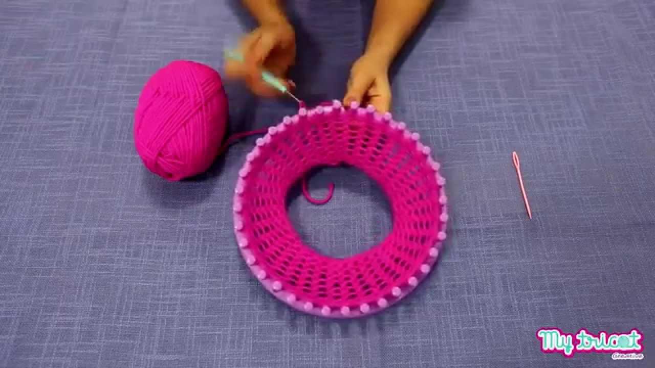 Creative My Tricot  ecco come fare un berretto - YouTube bb66085e70b6