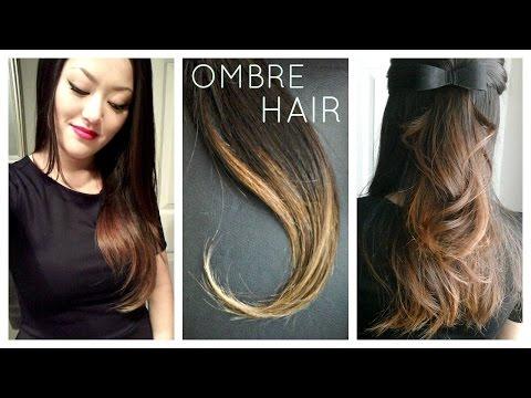 DIY: Ombre   Balayage Hair at home using Box Dye!