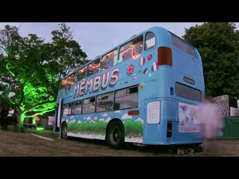 Membus: Tour creating the world's first video dictionary