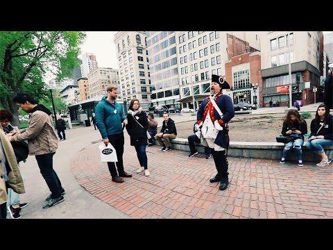 Hiking the Urban Jungle BOSTON