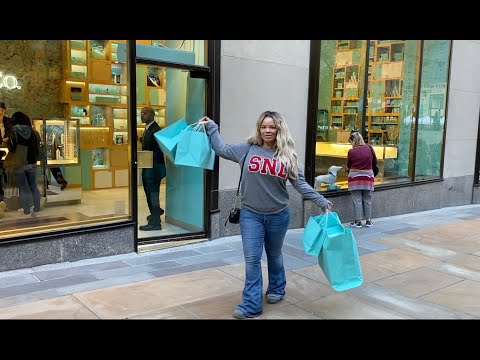 $8,000 TIFFANY'S SHOPPING SPREE IN NYC!