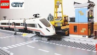 Лего Поезд Аварии и Машинки |  LEGO Train Crashes crossing with cars Compilation Новые серии(Лего аварии на железнодорожном переезде. Машинки лего переезжают рельсы и мимо проносится скоростной поез..., 2016-12-22T17:55:12.000Z)