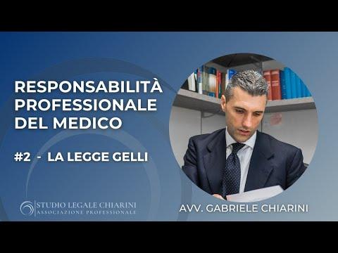 Responsabilità professionale medica | #2 LEGGE GELLI