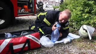 09.05.2019 - Hund reddet ud af brænden hus - Gentofte