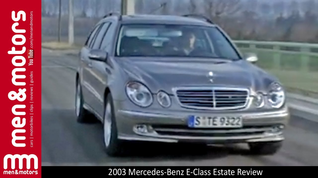 2003 mercedes benz e class estate review youtube for 2003 mercedes benz suv