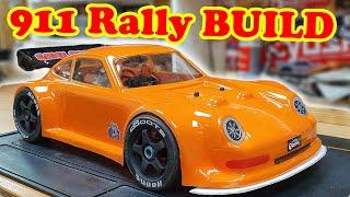 RC Porsche 911 Rally Car Build Complete (BURNOUT)