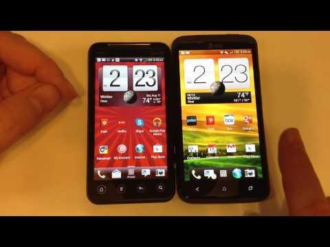 HTC One X vs. HTC EVO V 4G Review
