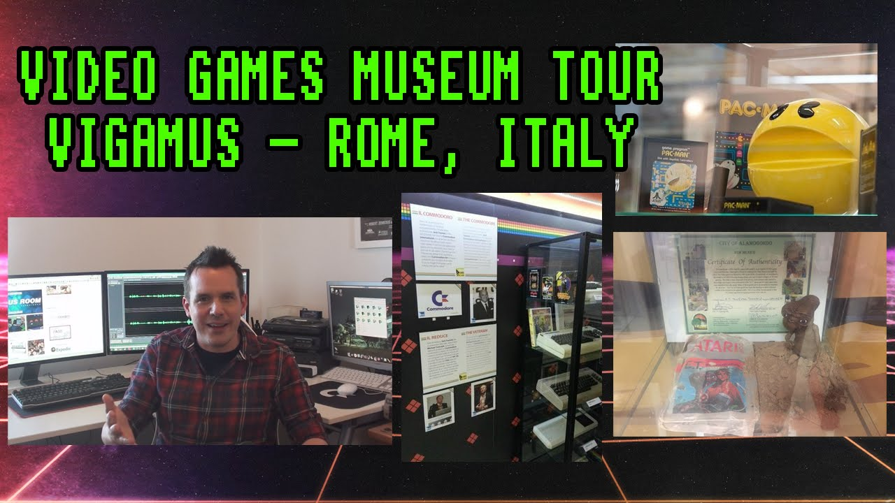 VIGAMUS - The Video Game Museum of Rome - YouTube