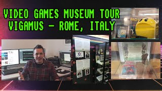 VIGAMUS Video Games Museum In Rome Tour (2015)(On a recent trip to Rome, Italy I stumbled across a really interesting video games museum! It features classic consoles, arcade games and an amazing display of ..., 2015-07-08T16:06:18.000Z)
