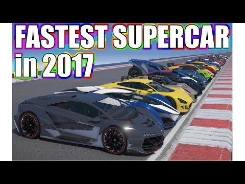 GTA V - Which Supercar is the Fastest in 2017?