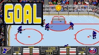NHL HOCKEY (PC/DOS) 1993, EA Sports