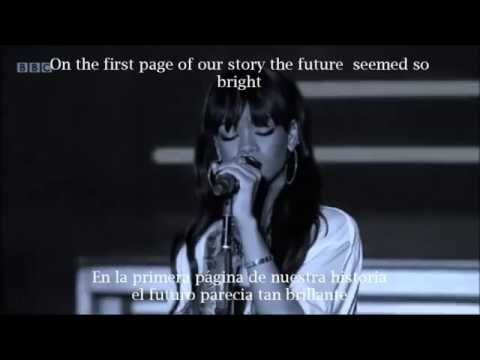 Rihanna- Love the way you lie part 2...