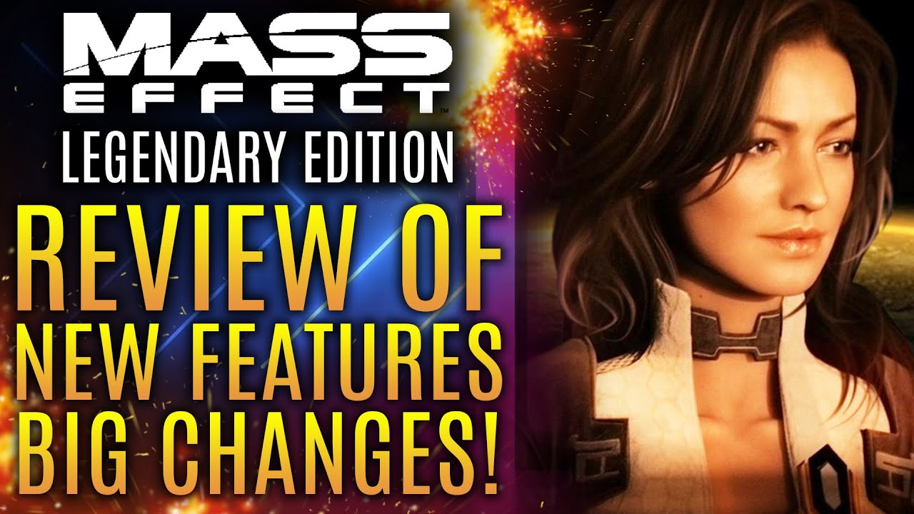 Mass Effect Legendary Edition - In-Depth Review of New Features and Big Changes! New Gameplay Info!