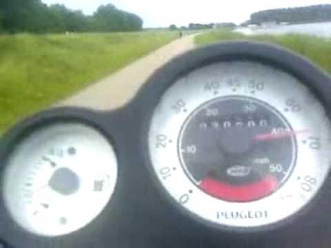 peugeot speedfight 2 70cc разгон