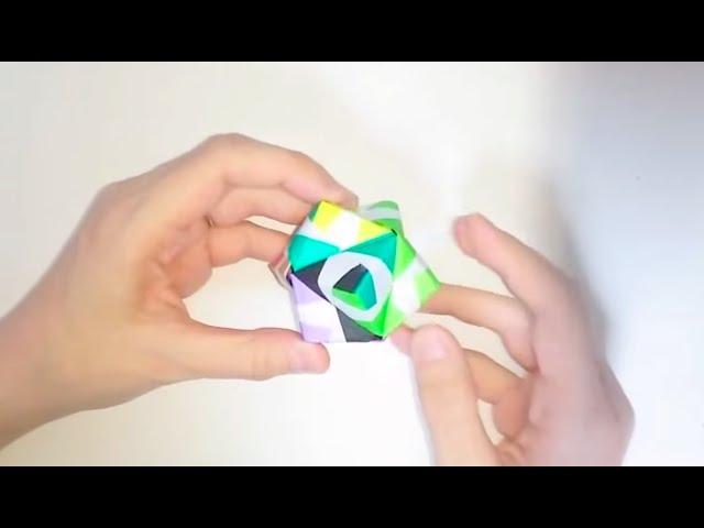 ハート 折り紙 : 折り紙36面体作り方 : youtube.com