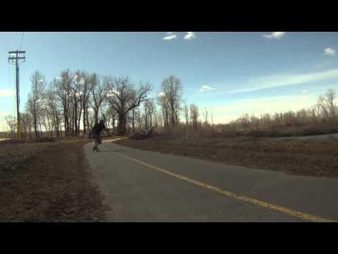 TanBomb4 FAST Longboarding Calgary