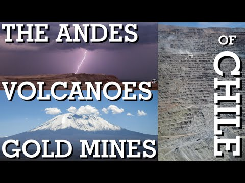 The Andes, Volcanoes and Copper Mines of Chile!