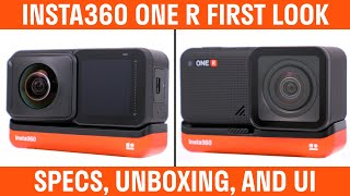 Insta360 ONE R 360 And 4K Action Camera First Look - Specs, Unboxing, and UI Walkthrough