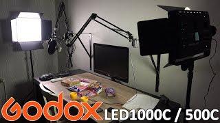 Godox LED1000C / 500C LED Videolicht [Unboxing / Review]