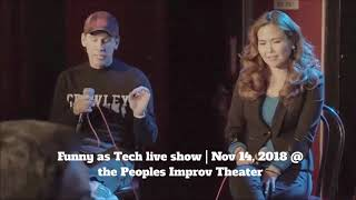 Should NYC Be the Tech Capital of the World?! Highlights from Funny as Tech live show