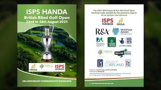 2021 ISPS Handa British blind open golf championship feature MASTER
