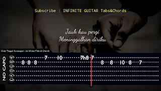 Download Video Tab Gitar/Melodi - Gaby Tinggal Kenangan Guitar Tutorial MP3 3GP MP4