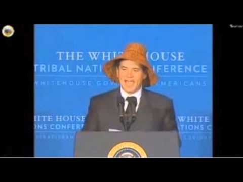 Tribal Leader: Obama Is 'First American Indian President'