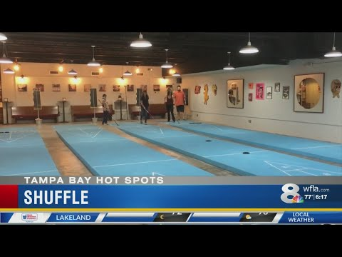 Shuffle bar brings shuffleboard to streets of Tampa Heights