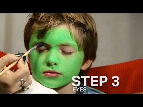 Monster Makeup Tutorial for Kids!