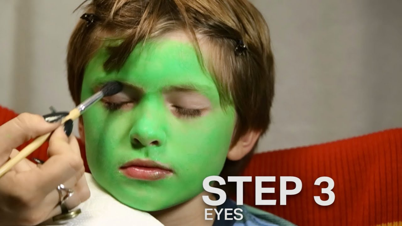 Zombie Makeup Tutorial For Kids Monster makeup tutorial for kids ...