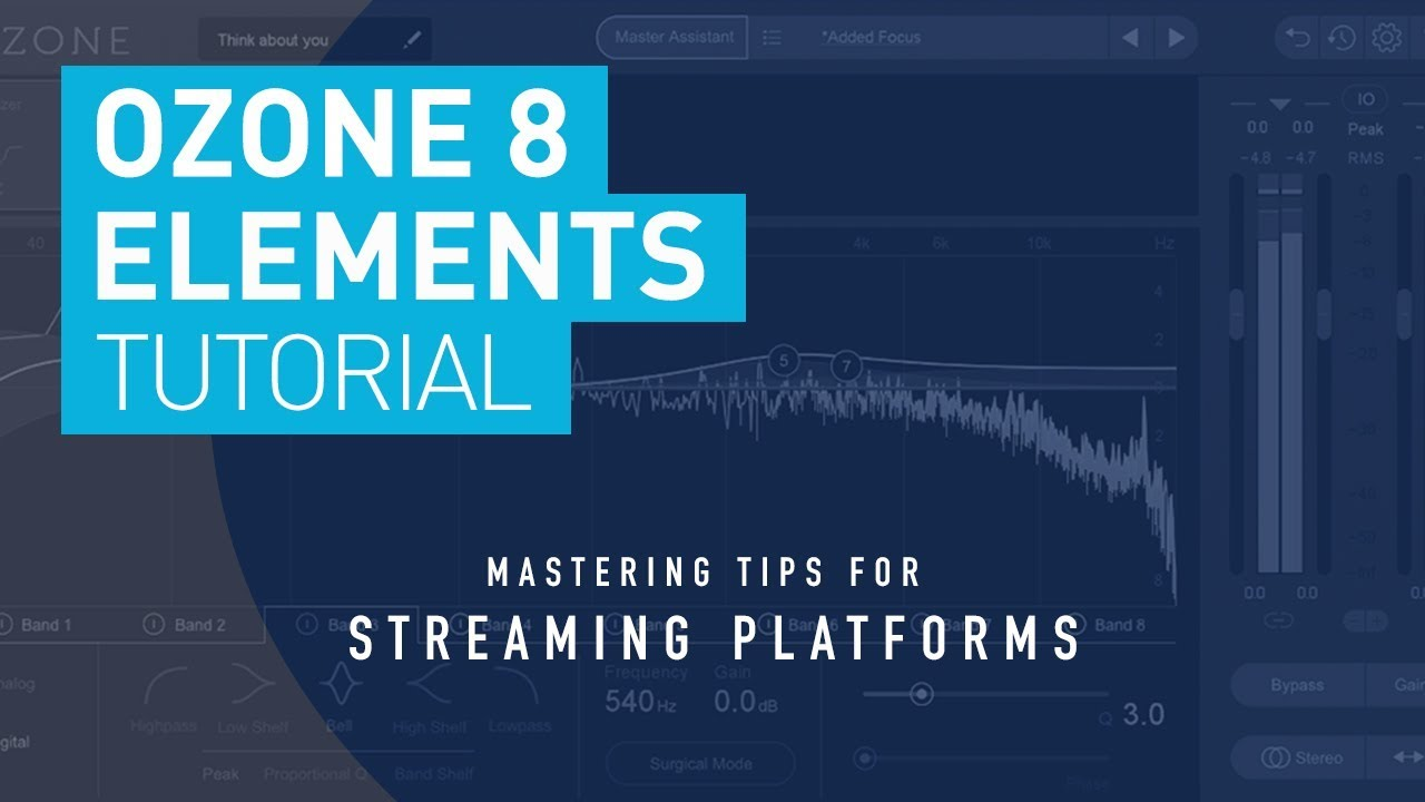 izotope ozone 8 elements master your track for streaming radio youtube. Black Bedroom Furniture Sets. Home Design Ideas