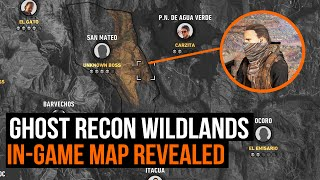 Ghost Recon Wildlands - How big is the map? In-game map revealed