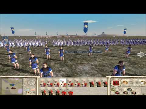 "Rome Total War online battle #2267: ""GARBAGE DAY?!?!"""