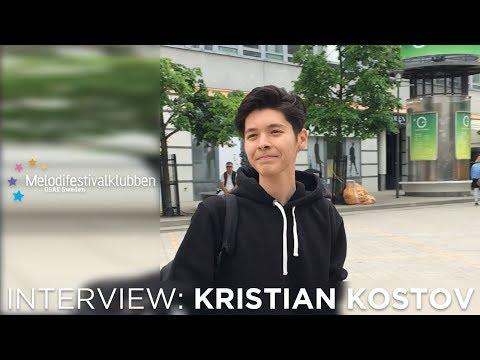 Kristian Kostov in Stockholm - interview - July 2017
